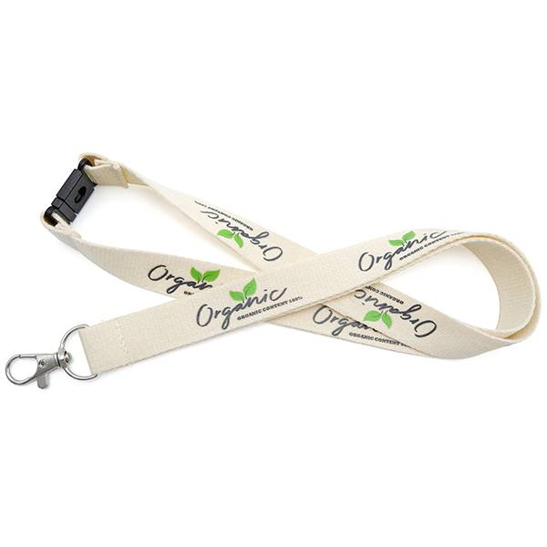 OS-0058 Personalized Organic Cotton Lanyards