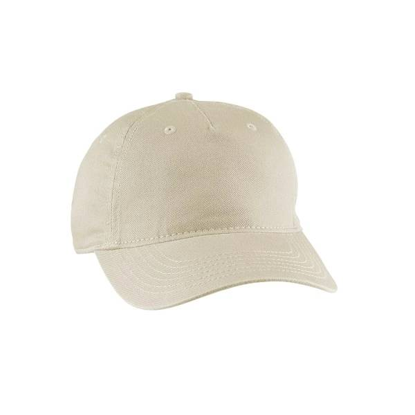 AC-0041  Promotional Organic Baseball Caps – 5 Panels