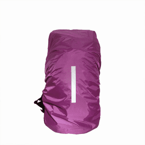 BT-0031 Custom reflective backpack cover