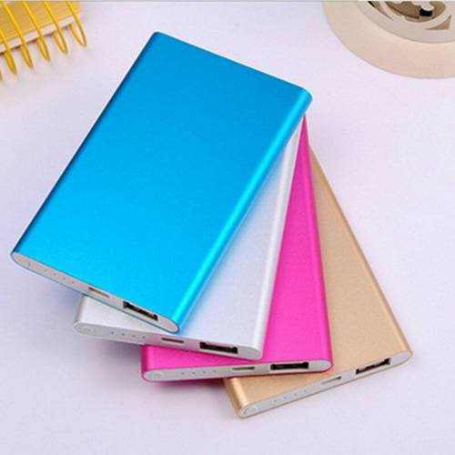 EI-0070 Promotional Logo 4000 mAh aluminum Power Banks