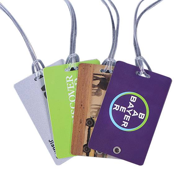 BT-0180 Promotional PVC luggage tags