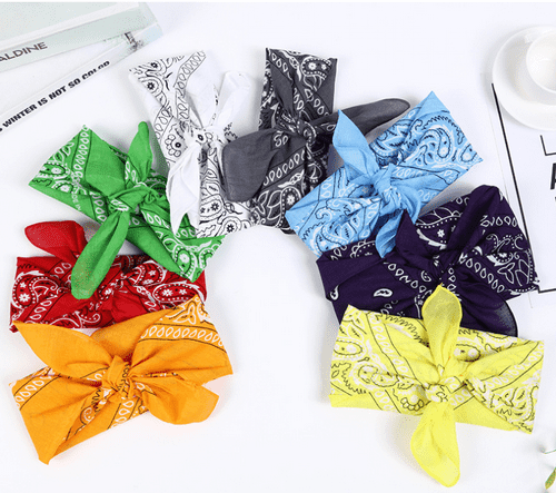 AC-0027 Promotional Square Cotton Bandanas