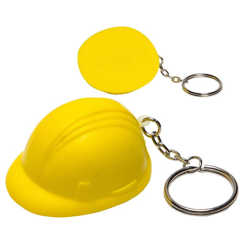 HP-0099 Custom Helmet Stress Ball Keychains