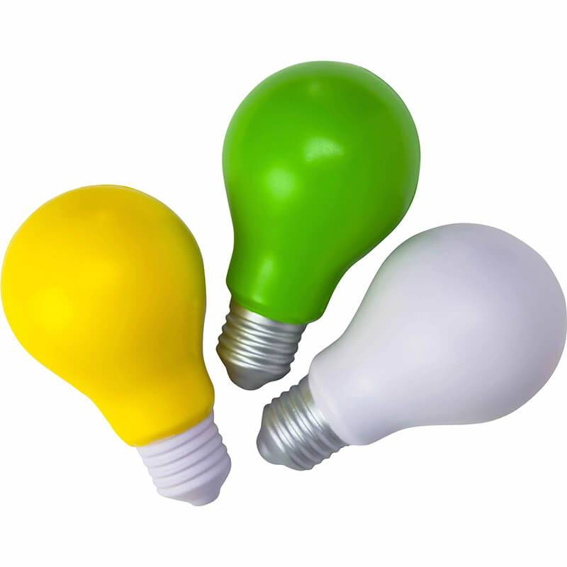 HP-0102 Custom Light Bulb Stress Balls