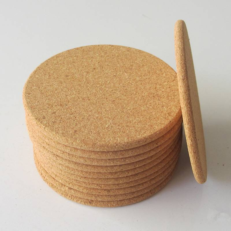 HH-0020 Custom Logo Cork Coasters