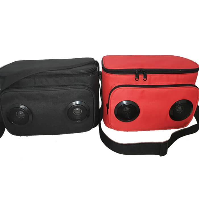 EI-0092 Customized Cooler Bag With Speakers