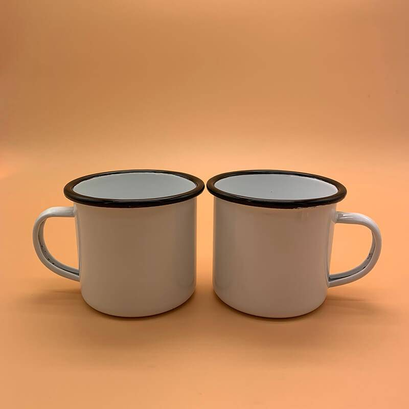 HH-0035 Branded Enamel Mugs
