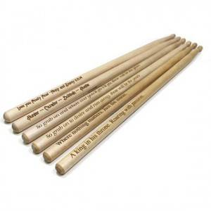TN-0031 Custom Wooden Drum sticks