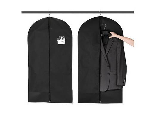 BT-0111 Promotional logo Non Woven Suit Cover