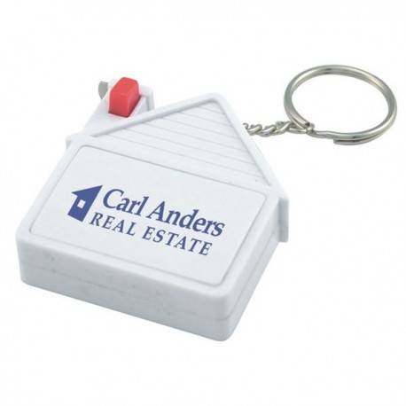 HH-0236 Custom House Tape Measure Key Chain