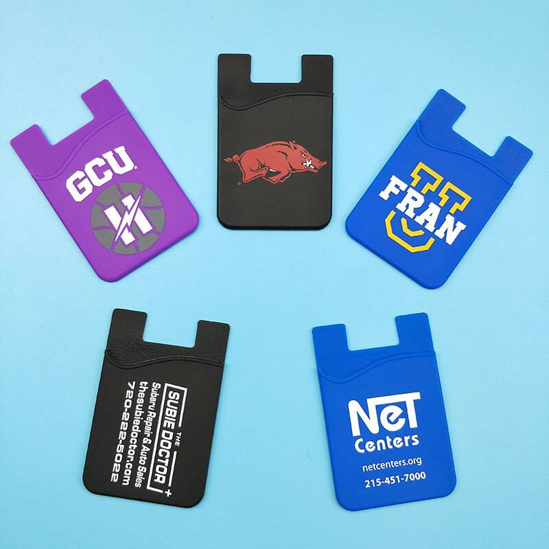 EI-0057 Silicone Mobile Phone Wallets