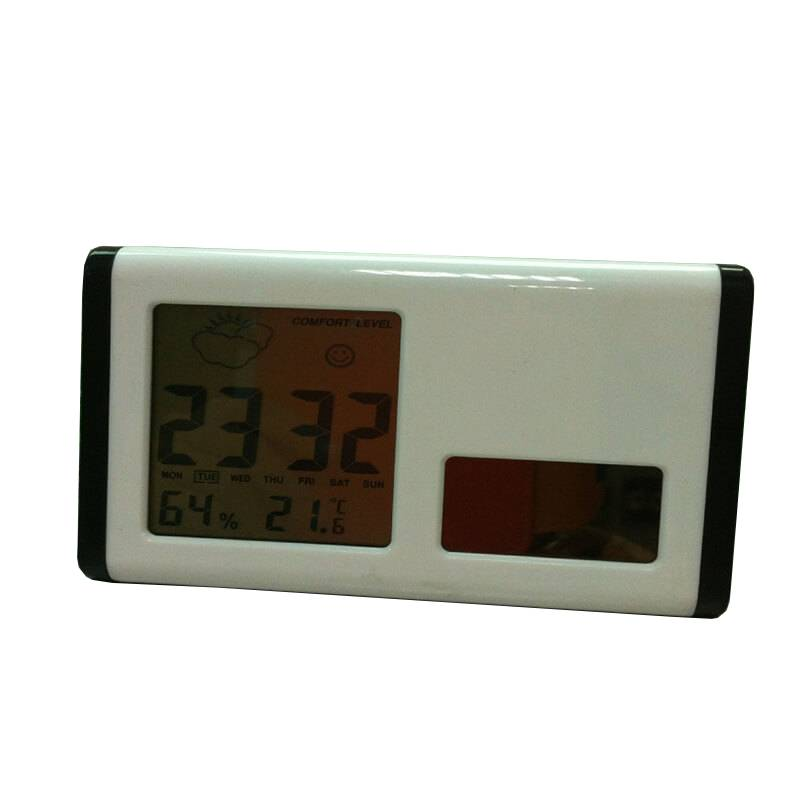 EI-0086 Customized Logo Solar CLock