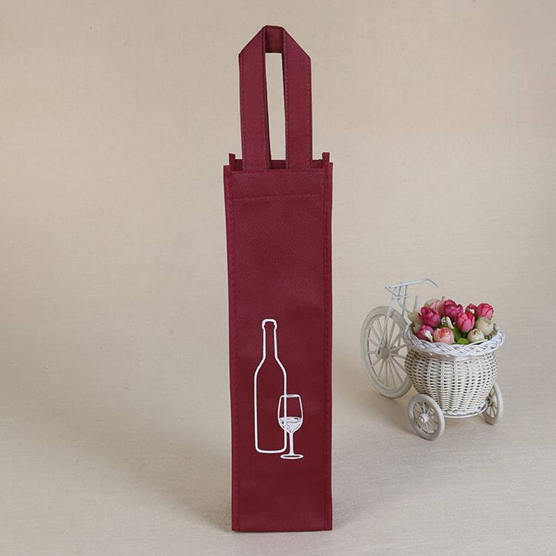 BT-0127 Promotional Now-woven Wine Bag