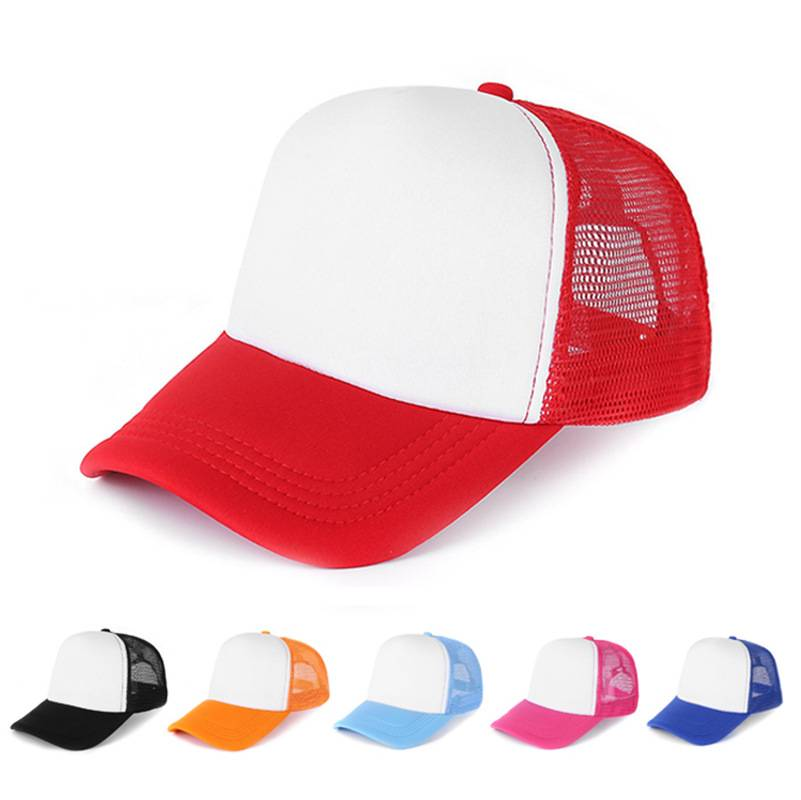 AC-0016 custom foam mesh trucker caps – 5panels