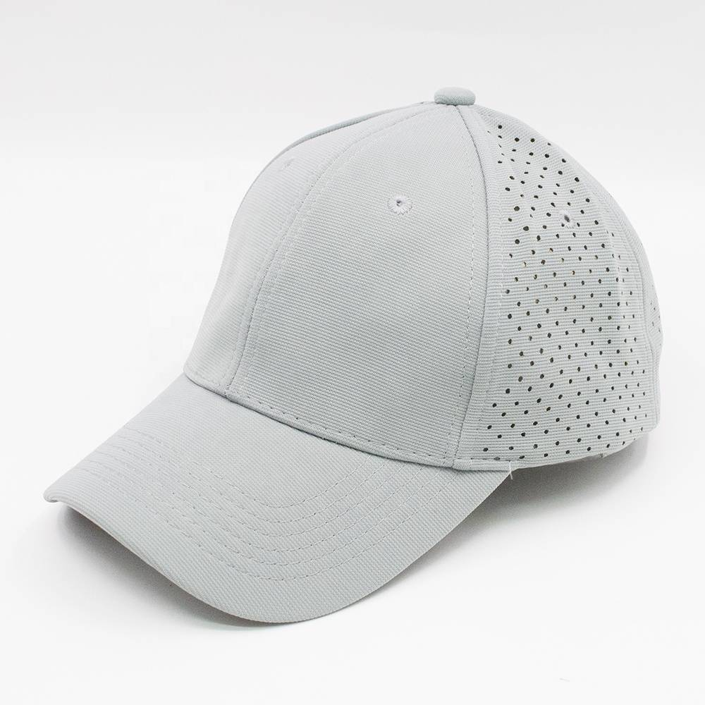 AC-0058 custom personalized perforated polyester baseball caps