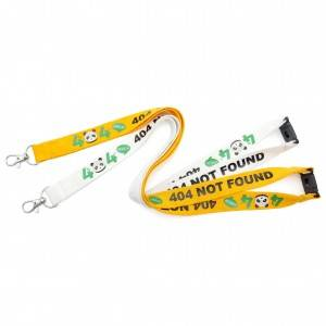 OS-0041 bamboo lanyards with logo