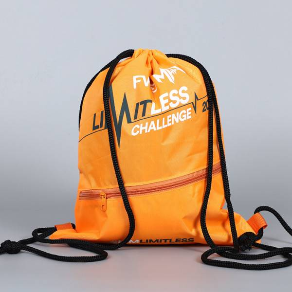 BT-0108 Promotional drawstring backpack with pocket