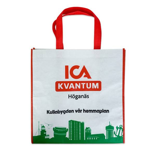 BT-0080 Promotional RPET laminated tote bags