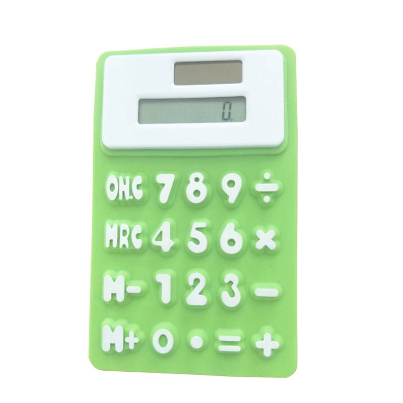 OS-0133 Promotional Rubbery Flexible Calculator