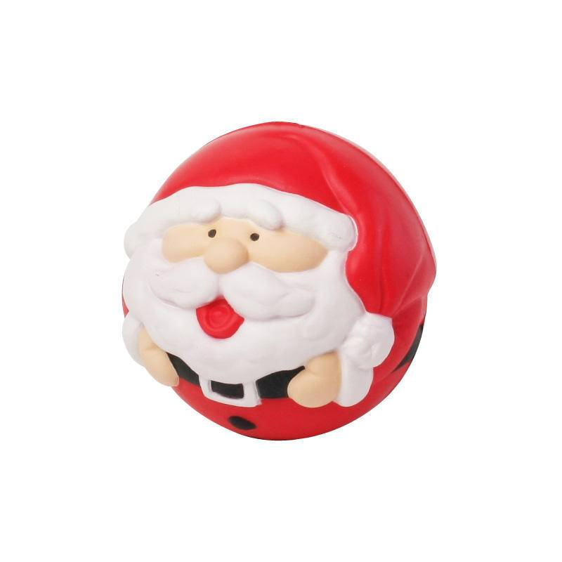 HP-0104 Custom Santa Stress Balls