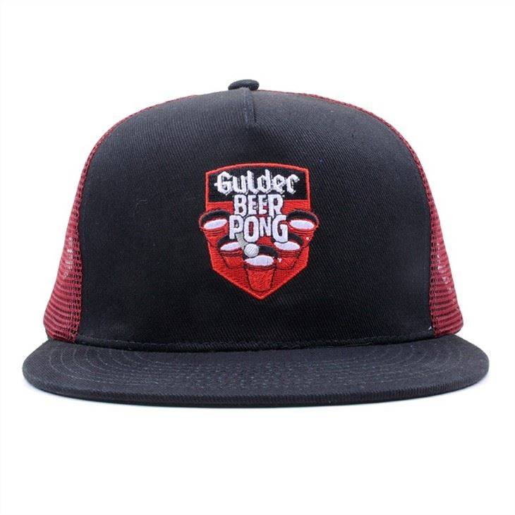 AC-0018 Promotional Flat Bill Mesh Snapback Hats