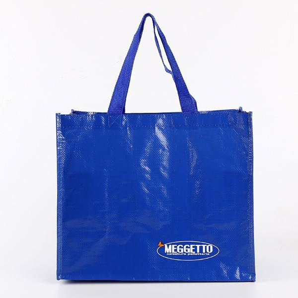 BT-0166 Custom printed pp woven laminated shopping bags