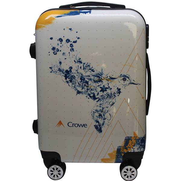 BT-0052 Promotional logo 20-inches ABS Luggage Trolley Case