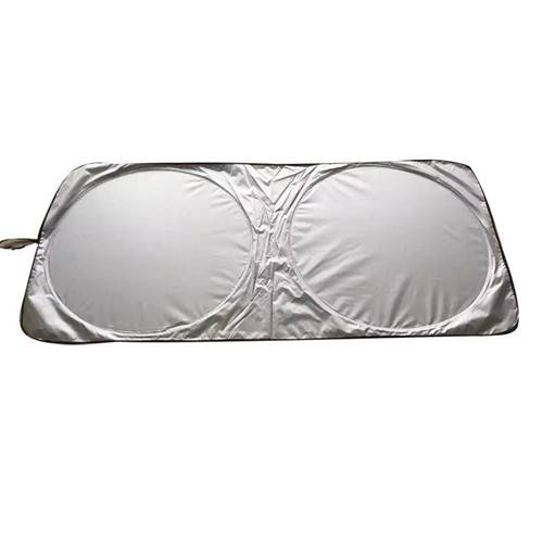 AM-0016 Promotional two-panel car sunshade