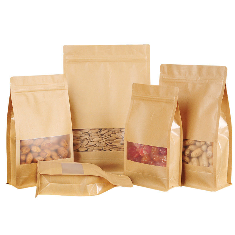 Kraft Paper Flat bottom bag Featured Image