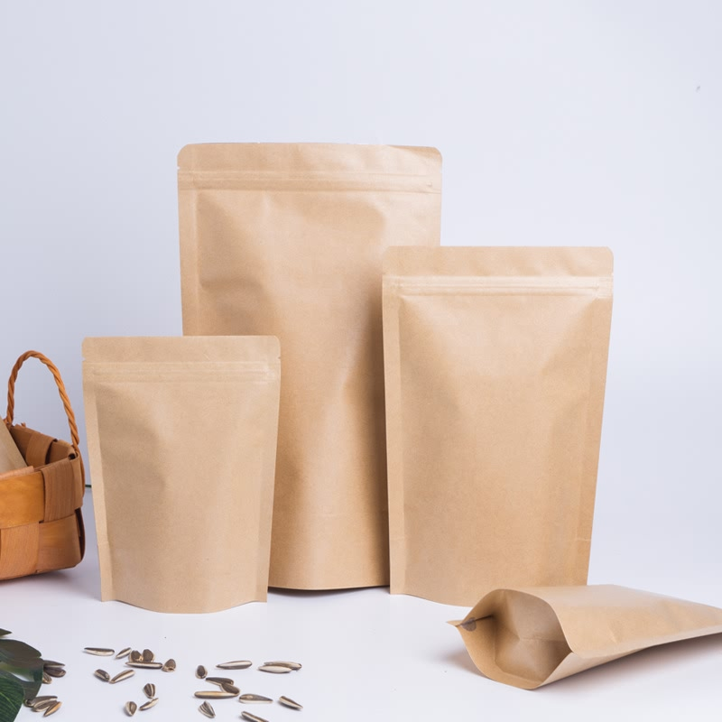 Kraft Paper Stand Up Pouch Featured Image