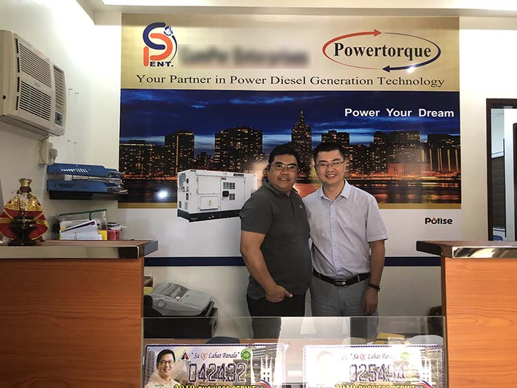 Hongfu Power Was Visiting the Southeast Asia Parnters