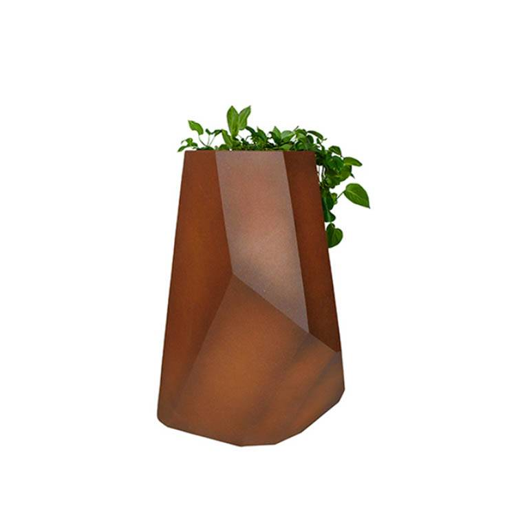 Corten flower pot Featured Image