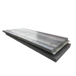 Hot rolled metal building material carbon black steel plate price list