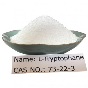 L-Tryptophan CAS 73-22-3 for Food Grade(FCC/AJI/USP)