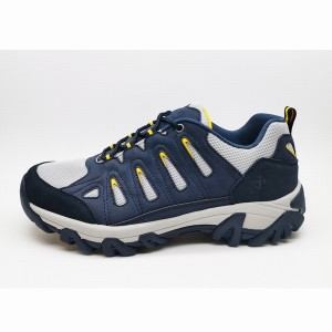 classical walking textile hiking breathable outdoor shoes for men