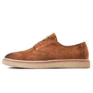 leisure men shoe with classic upper design soft material produced by professional shoe factory