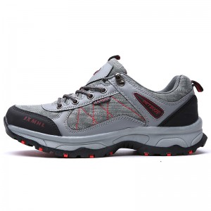 new design walking textile sneakers breathable fashion hiking shoes for men