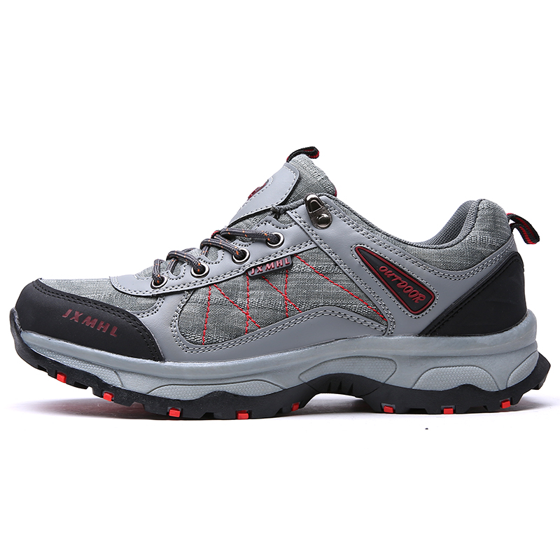 new design walking textile sneakers breathable fashion hiking shoes for men Featured Image
