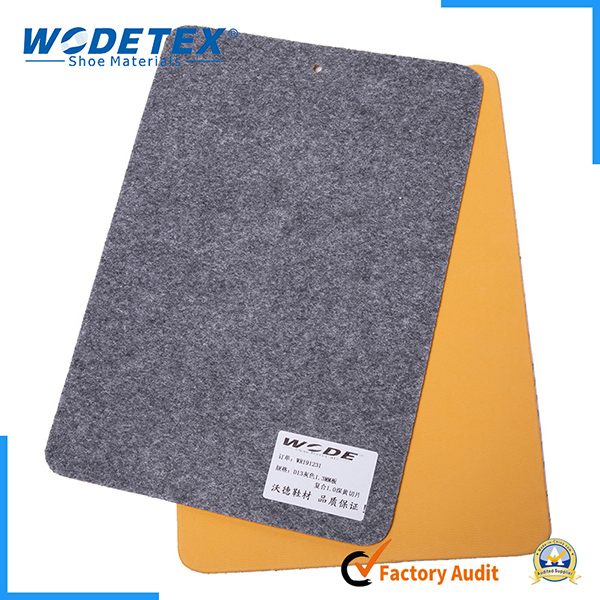 Nonwoven insole board with eva