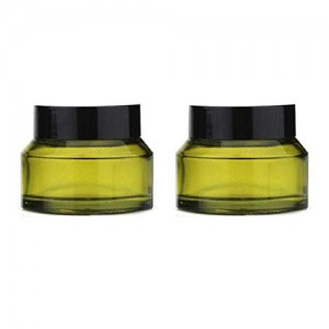 Cosmetic Cream Lotion Glass Bottle Jars with PP Liner