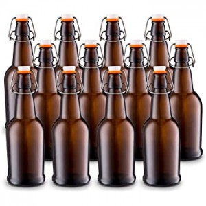 450 ml Glass Beer Bottle with Swing Top