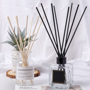 Customized Black Fiber Reed Sticks for Diffuser Oil Set