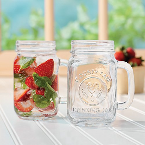 16oz Glass Drinking Mason Jar Featured Image