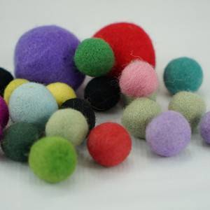 Decoration Wool Balls