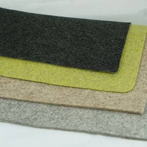 Wool mixed felt