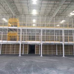 Best High Quality Double Deep Selective Rack Factories –  Mezzanine – Huade