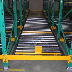 Best High Quality Gravity Flow Racking Manufacturers –  Pallet Flow Rack – Huade