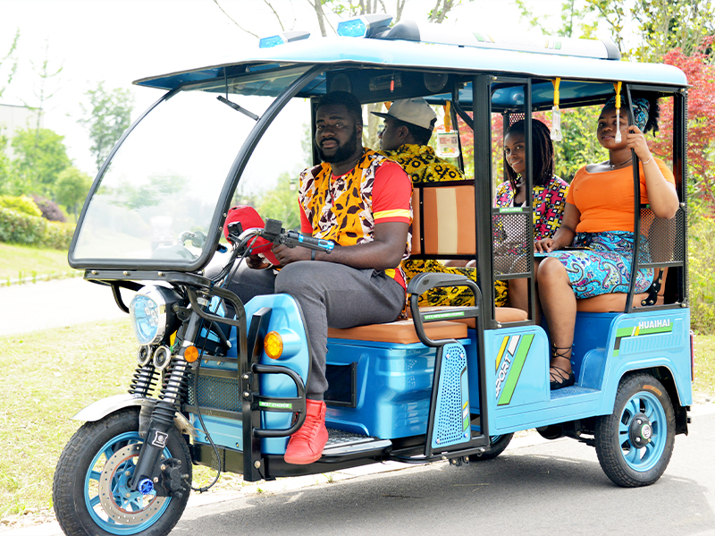 African market – K series electric passenger tricycle