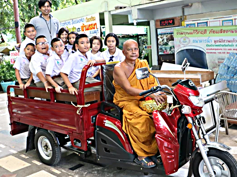 Southeast Asian market – T series tricycle