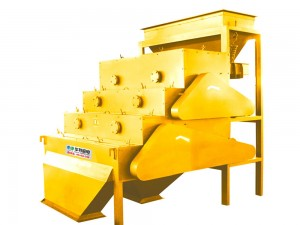 Series CFLJ Rare Earth Roller Magnetic Separator